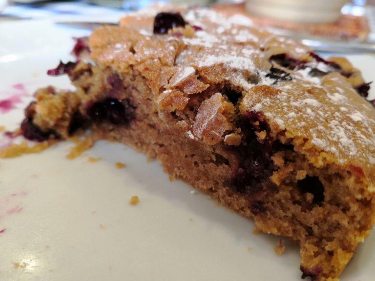 Blueberry Cake Vegan