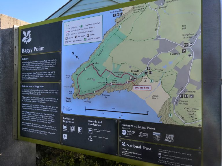 Baggy Point Map