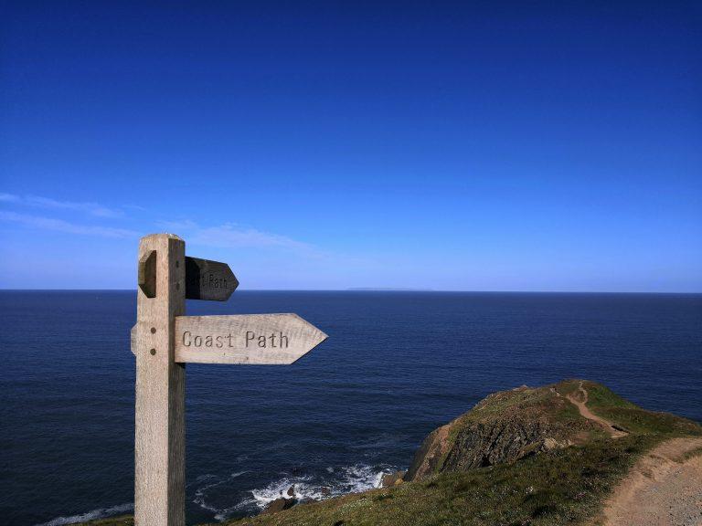 South West Coast Path Baggy Point