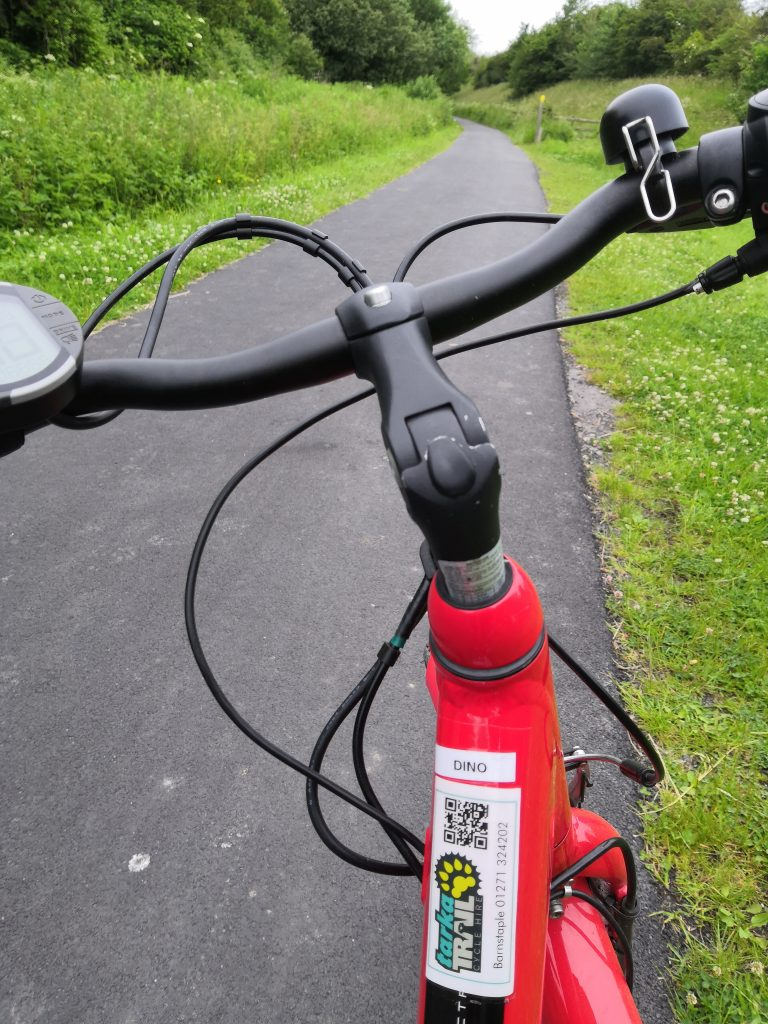 Electric Bike Tarka Trail Barnstaple to Bideford