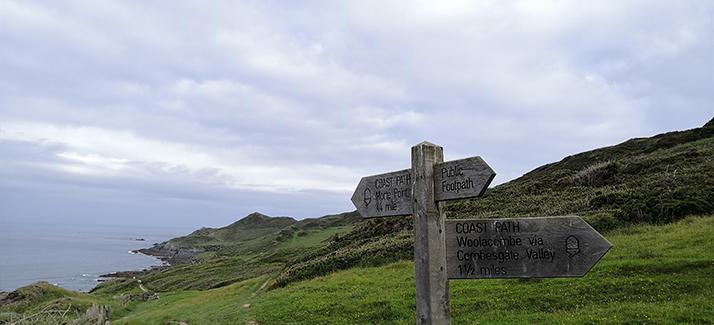 Morte Point: Woolacombe Warren to Mortehoe