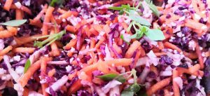 Tangy Sweet Oil Free Coleslaw