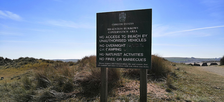 crow point and braunton burrows conservation area