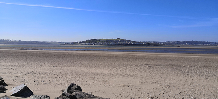 view from crow point to instow and appledore
